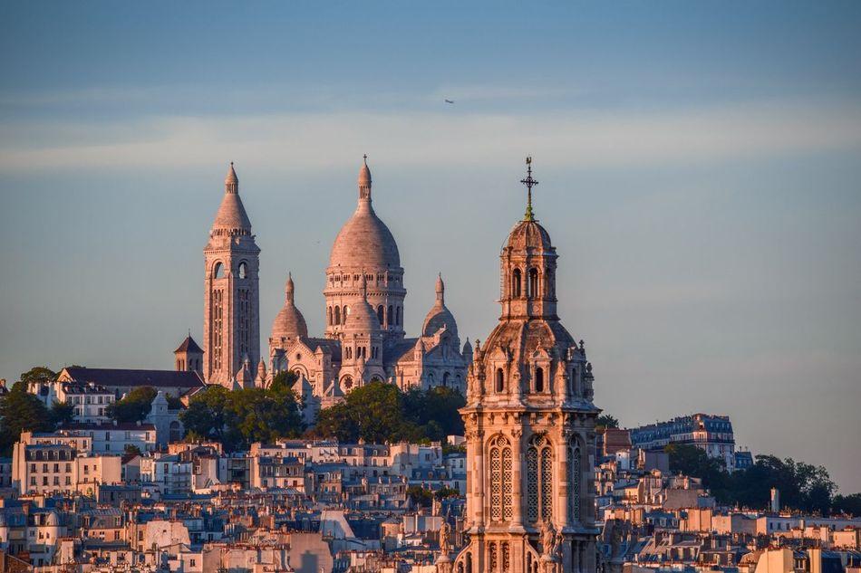 Beautiful stock photos of paris, Architecture, Basilique Du Sacre Coeur, Building Exterior, Built Structure