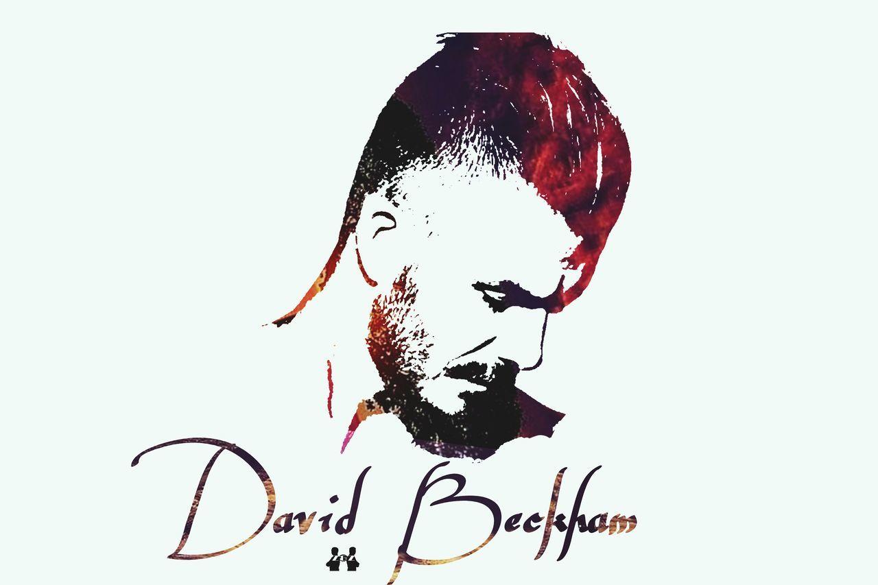 Beck Becks BECKHAM ♡♡♡♥♡ David Beckham Beckham23 Beck7 Manu ManUtd Soccer Fashion Football Love Multi Colored Red Z&Z