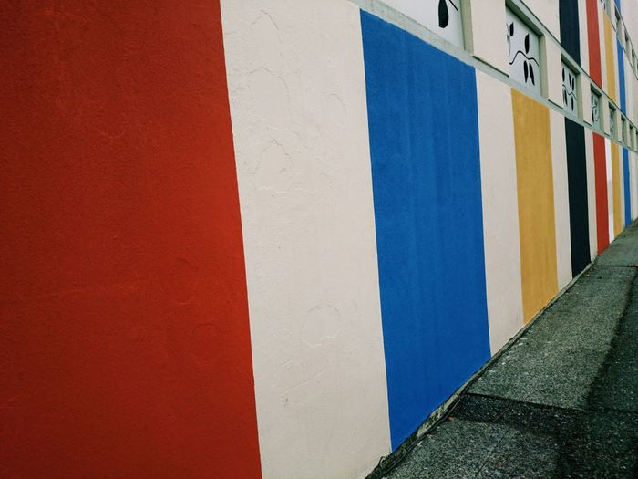 Colors Streetphotography Lines