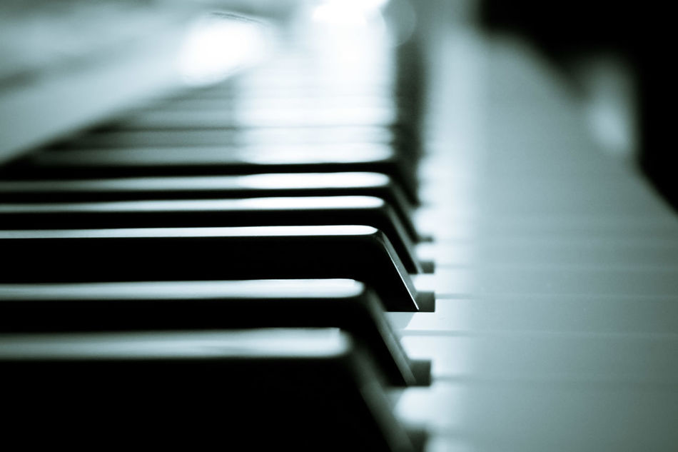 Piano... Piano Music Piano Key Musical Instrument Close-up Arts Culture And Entertainment No People Indoors  Day Black And White Love Ecstasy Melody