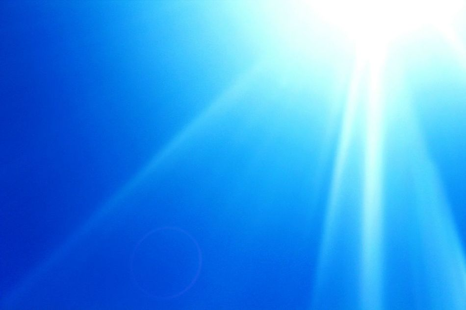 Sky Blue Sky Azure Sky Beauty Of The Sky Sun Is Shining Sun ☀ Simple And Special Canonphotography Summer2016 Nature Life Is Beautiful 😚