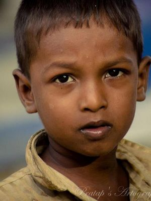 portrait in Chennai by Pratap Venkatesan