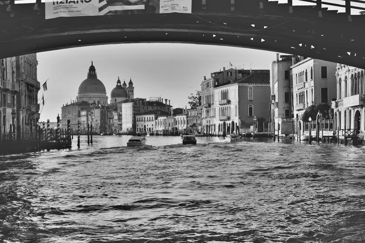 Architecture Building Exterior Built Structure Canal City Day Dome EyeEm Best Shots EyeEm Gallery EyeEmNewHere Gondola - Traditional Boat Landscape Landscape_Collection Outdoors Place Of Worship Real People Religion Sky Spirituality The Week On Eyem Travel Destinations Venezia Venice, Italy Water Waterfront