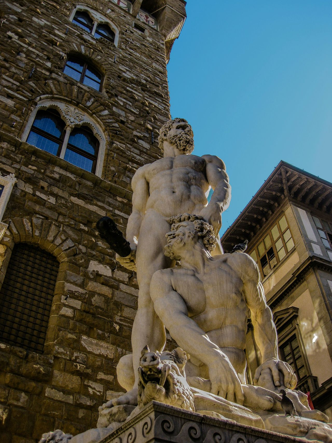 Firenze Piazza Della Signoria The Traveler - 2015 EyeEm Awards Hercules And Cacus Italia Italy Florence Streetphotography From My Point Of View Eyem Best Shots The Tourist