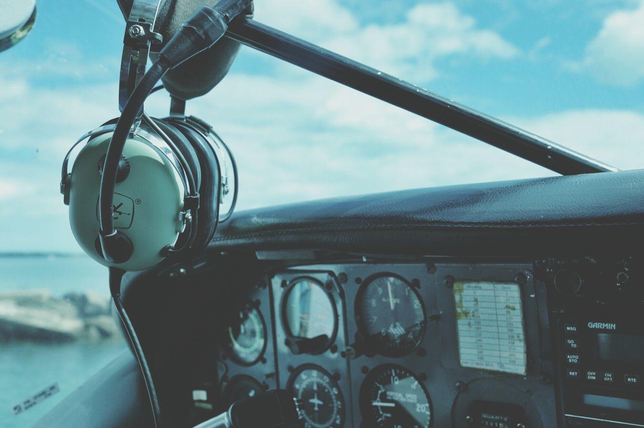 Beautiful stock photos of plane, Air Vehicle, Airplane, Audio Equipment, Cockpit