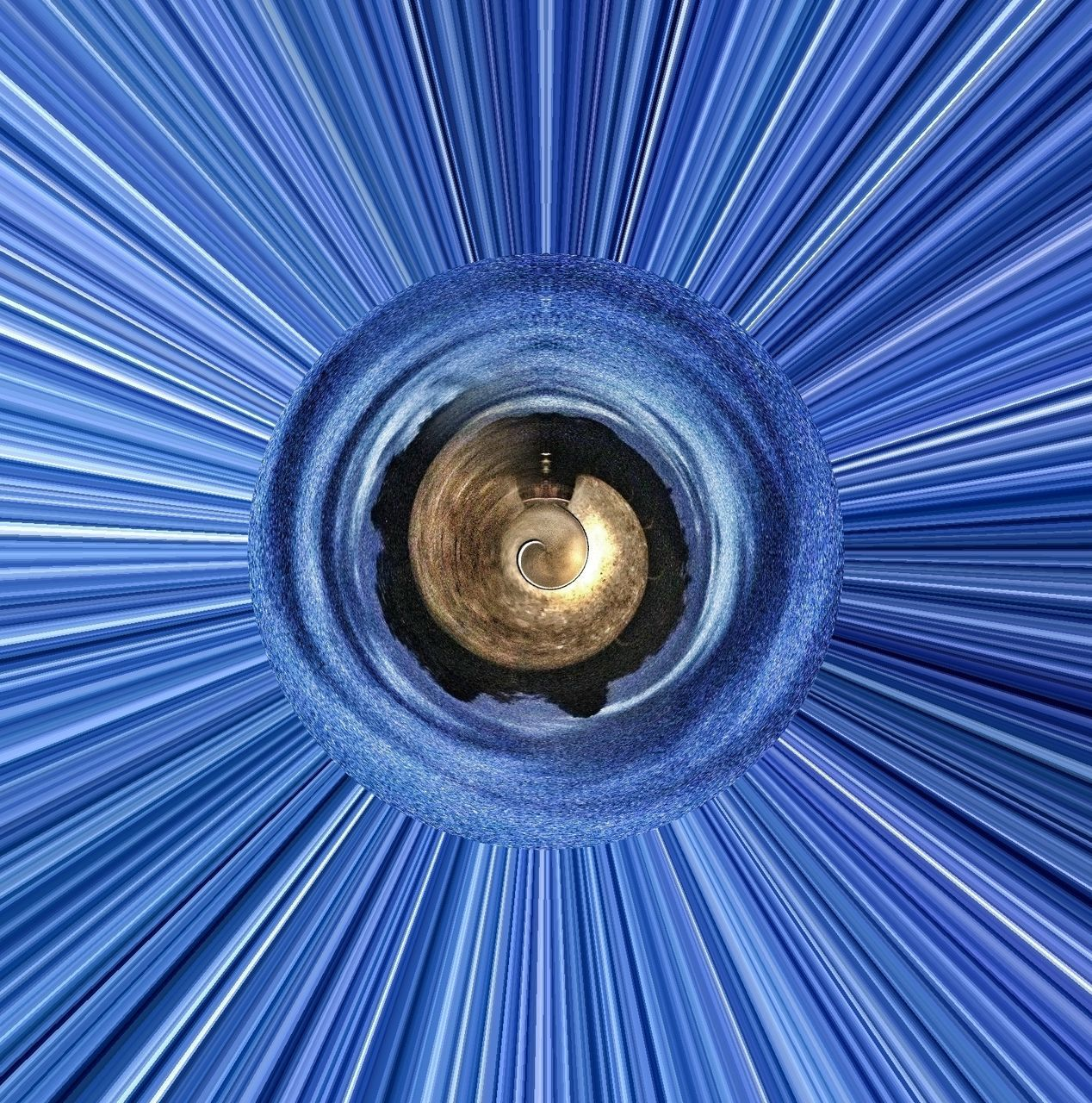 full frame, backgrounds, blue, illuminated, abstract, pattern, no people, close-up, concentric, technology, futuristic, day