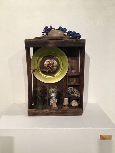 """George Herms Artist 2016 """"Bright Moments"""" ArtWork Art Gallery Artistic Expression Assemblage George Herms Art"""