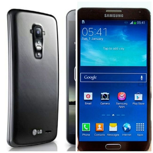 Thinkin' Bout Upgrading My Phone... Which One Should I Roll Wit? The LgGFlexPro or the Samsunggalaxynote3 ?
