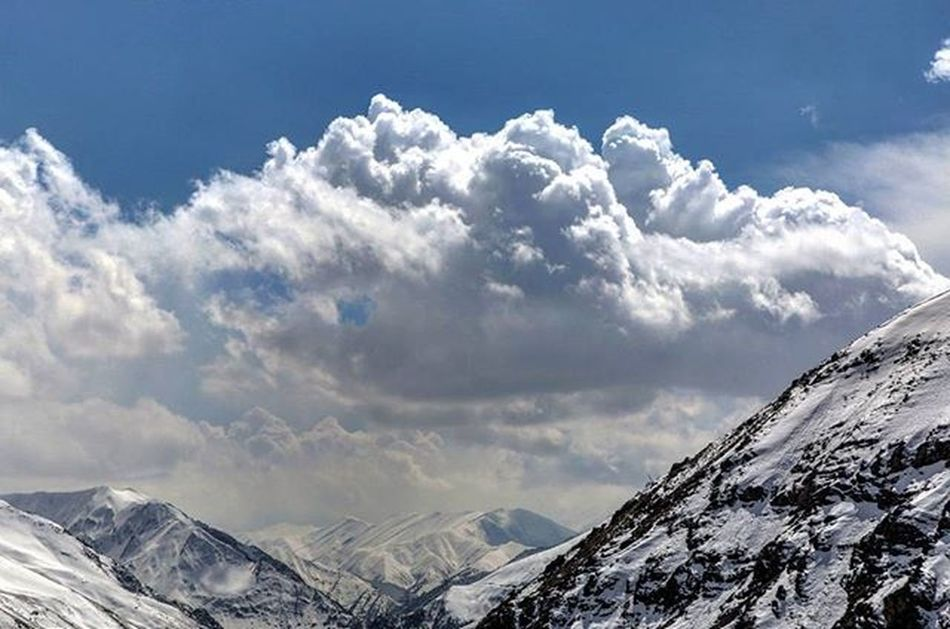The huge cloud ☁ Landscape Traveling Travel Alborz Nature_shooters Naturelove Cloud Sky