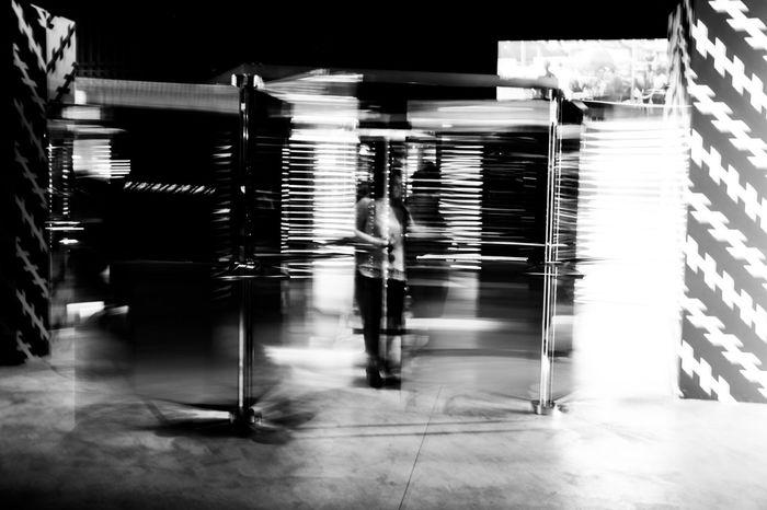 Art Blurred Motion Carsten Höller Confusion Contemporary Art Contemporary Art Museum Hangar Hangarbicocca Interactive  Mirror Mostra Movement Person Reflex Show