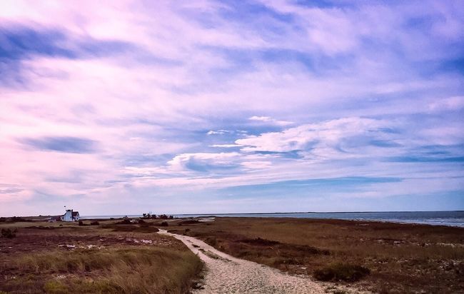 Harding Beach, West Yarmouth,Mass Tranquil Scene Cloud - Sky Beauty In Nature Horizon Over Water Scenics Nature Footpath Cloudscape Outdoors Dramatic Sky Cape Cod EyeEm Best Shots EyeEm Nature Lover Lighthouse Abandoned Water Calm Non-urban Scene Tranquility Cloudy Nikon Capecodlife Capecodimages Vacation