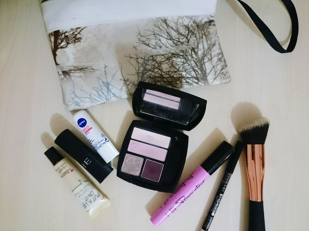 I 💖 them Makeup MakeupBag Thebalm Gosh NOTEcosmatics Nivea