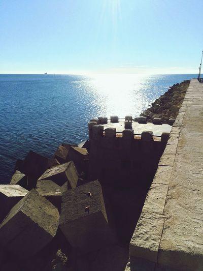 still weird that it's the Mediterranean not the Atlantic Enjoying The Sun