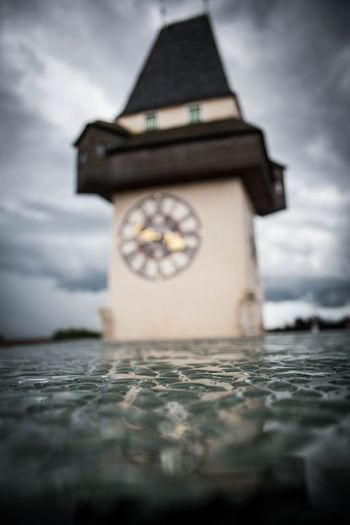 Architecture Drops Graz Nature No People Outdoors Uhrturm Water EyeEmNewHere