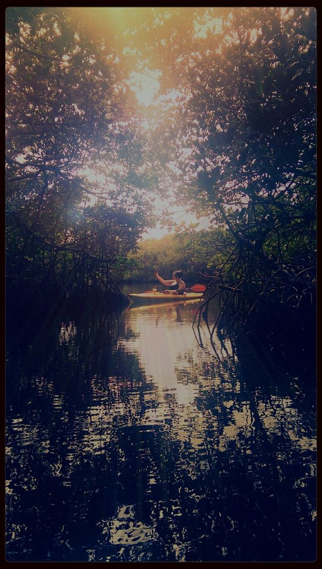 Robbinson Preserve Enjoying Life Ria & Bia Kayaking