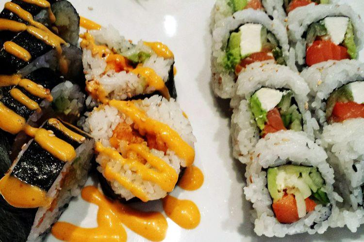 lunch Sushi Food Enjoying Life Relaxing First Eyeem Photo