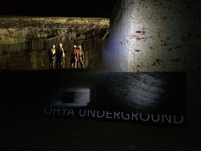 Japan 地底 大谷採石場 Ohyaunderground 大谷石 OHYA Tochigi Utsunomiya 宇都宮 Underground チイキカチ 栃木県