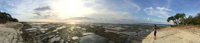 G-Land Panoramic Tranquil Scene Scenics Tranquility Sea Sky Beauty In Nature Water Horizon Over Water Snow Winter Cold Temperature Season  Nature Sun Solitude Remote Tourism Calm Cloud Visitindonesia Indonesia_photography Alaspurwo Alaspurwonationalpark Iphone5s