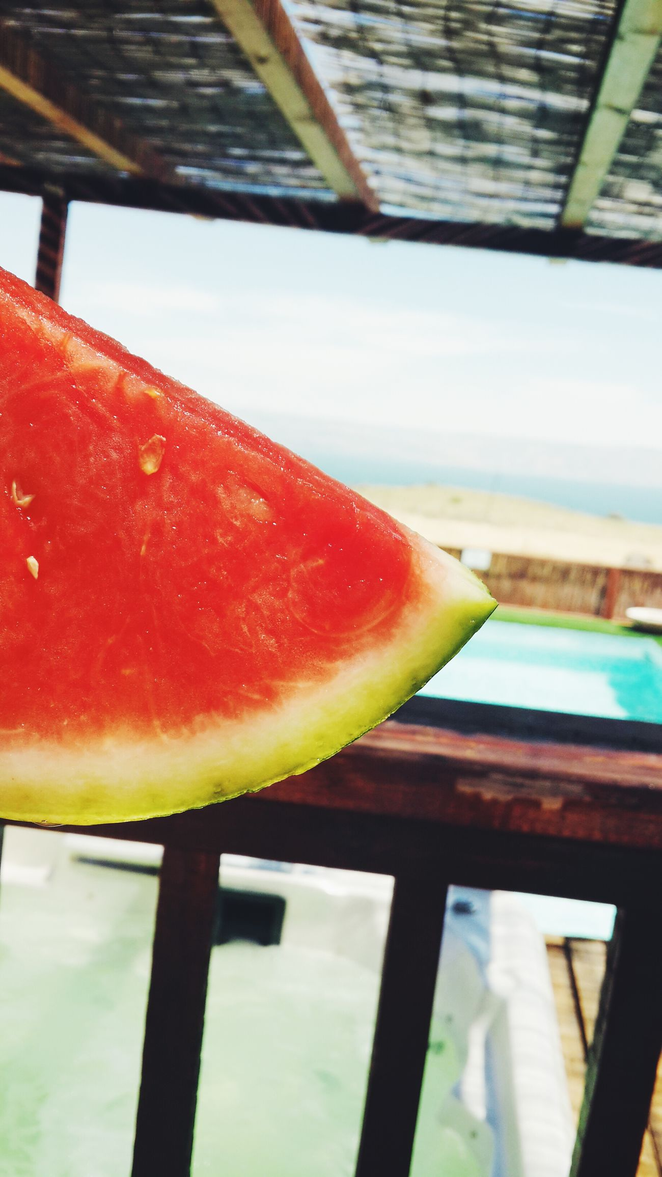 Eating Watermelon Loving The Season Sea And Sky Love