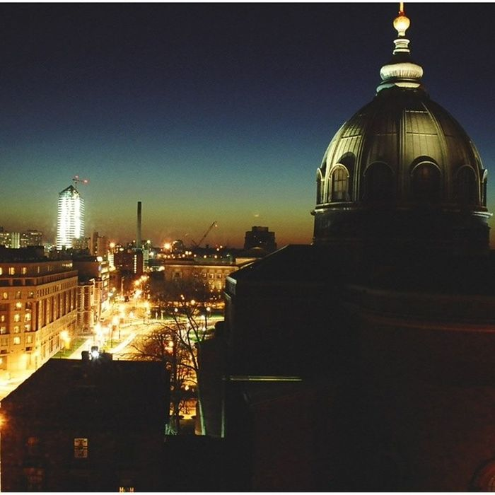 Downtown Philadelphia, circa 2005. Cathedral of Saints Paul and Peter. Ic_thecity Cityscape Architecture Building