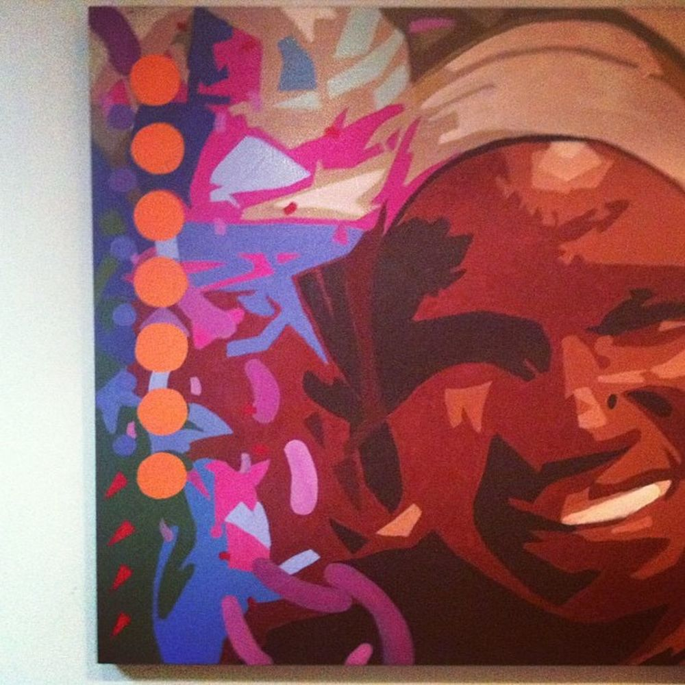 A nice bit of Brazilian Art I liked nothing more ;) Rio