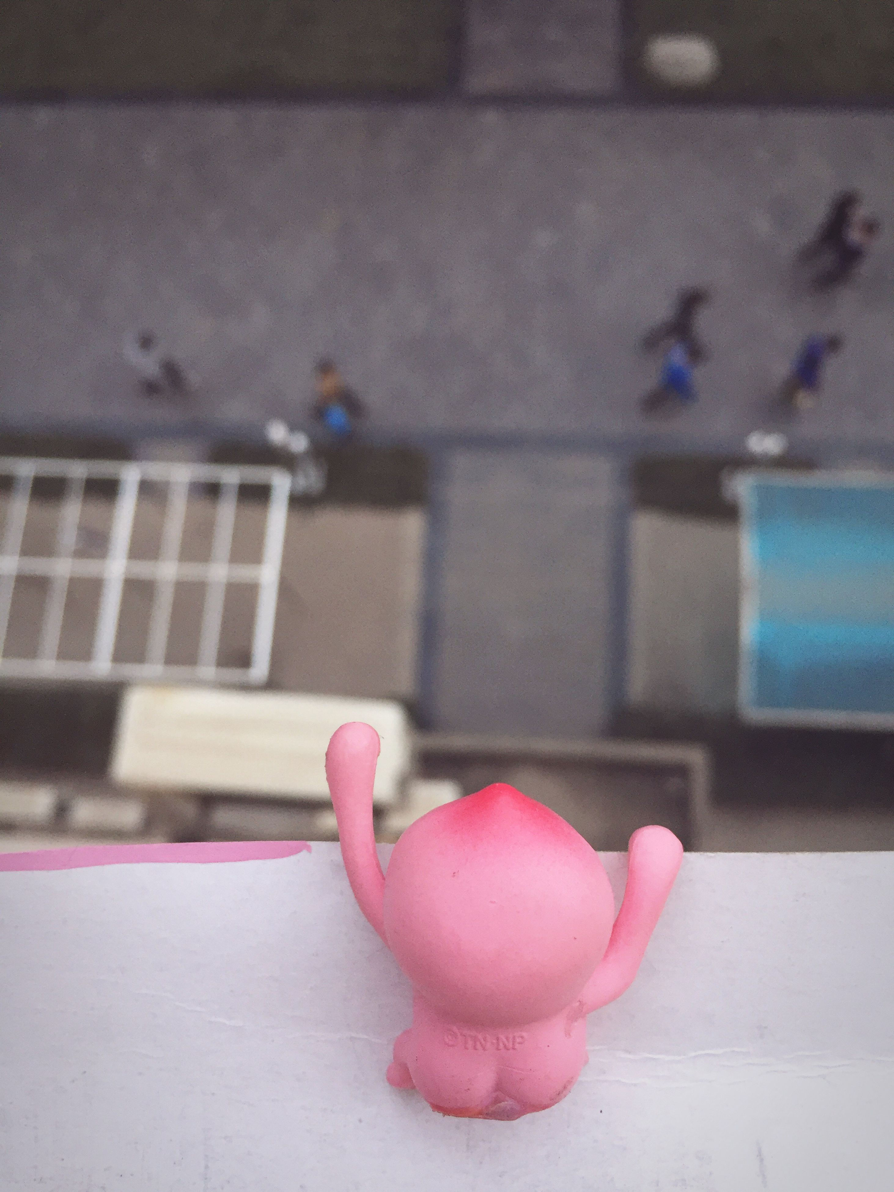 indoors, pink color, person, close-up, part of, focus on foreground, cropped, selective focus, unrecognizable person, built structure, wall - building feature, red, architecture, human finger, day, flooring, table