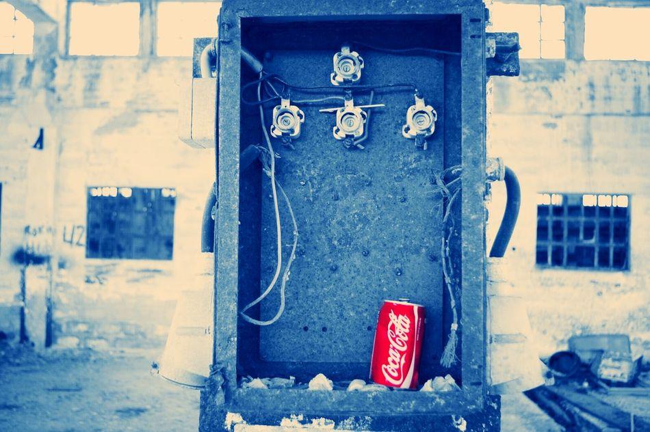 Coke Pentax Taking Photos Lostplaces