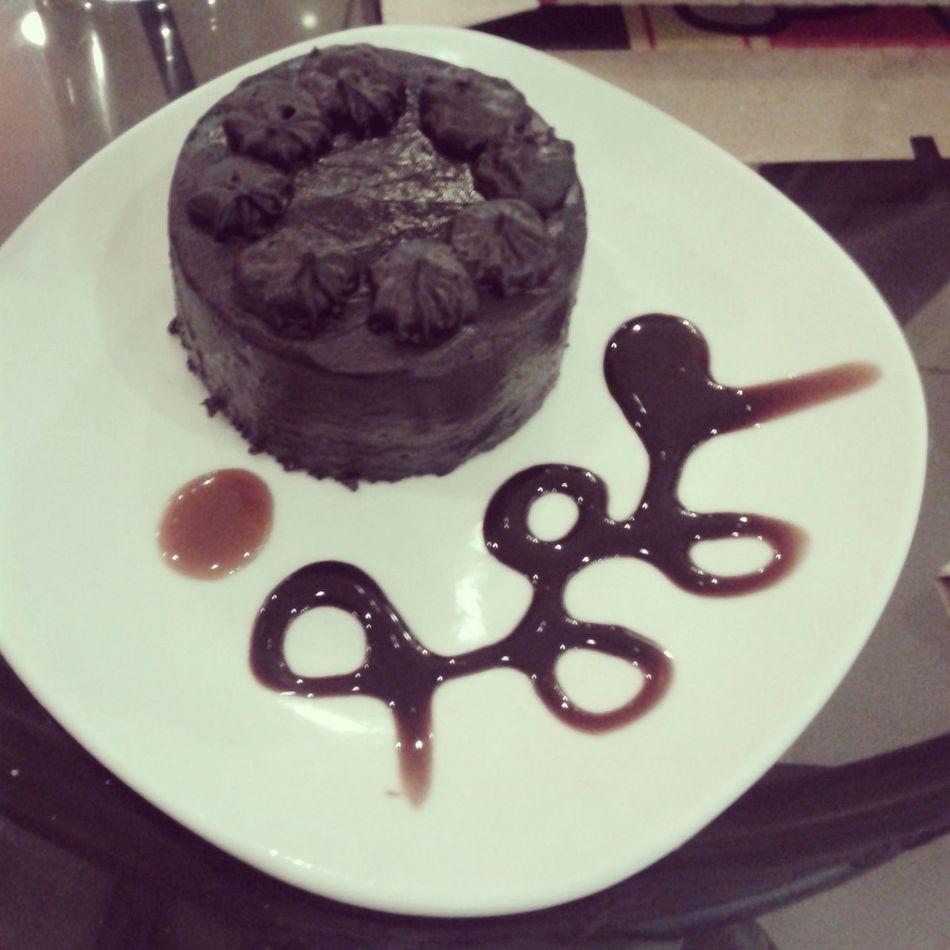 Chocolate Cake Tablea Foodporn Dessert