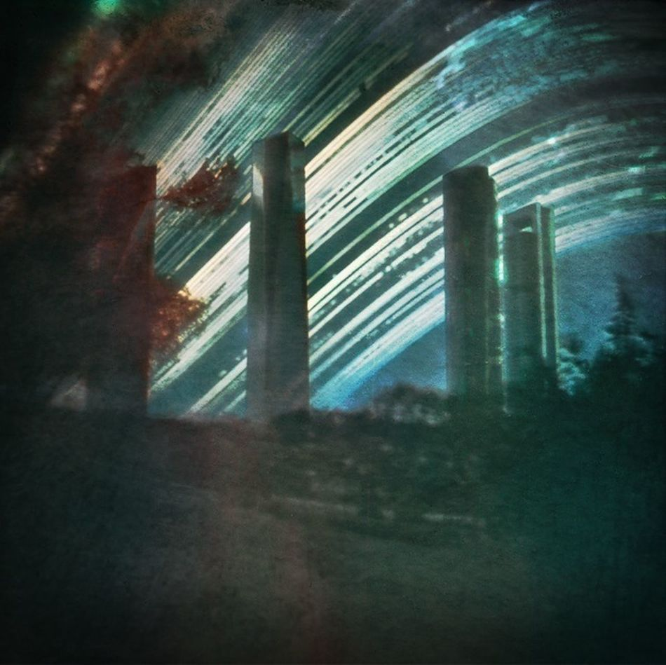 Six months exposure between solstices around 4 Towers Business Area. Madrid Pinhole Photography Pinhole Solargraphy