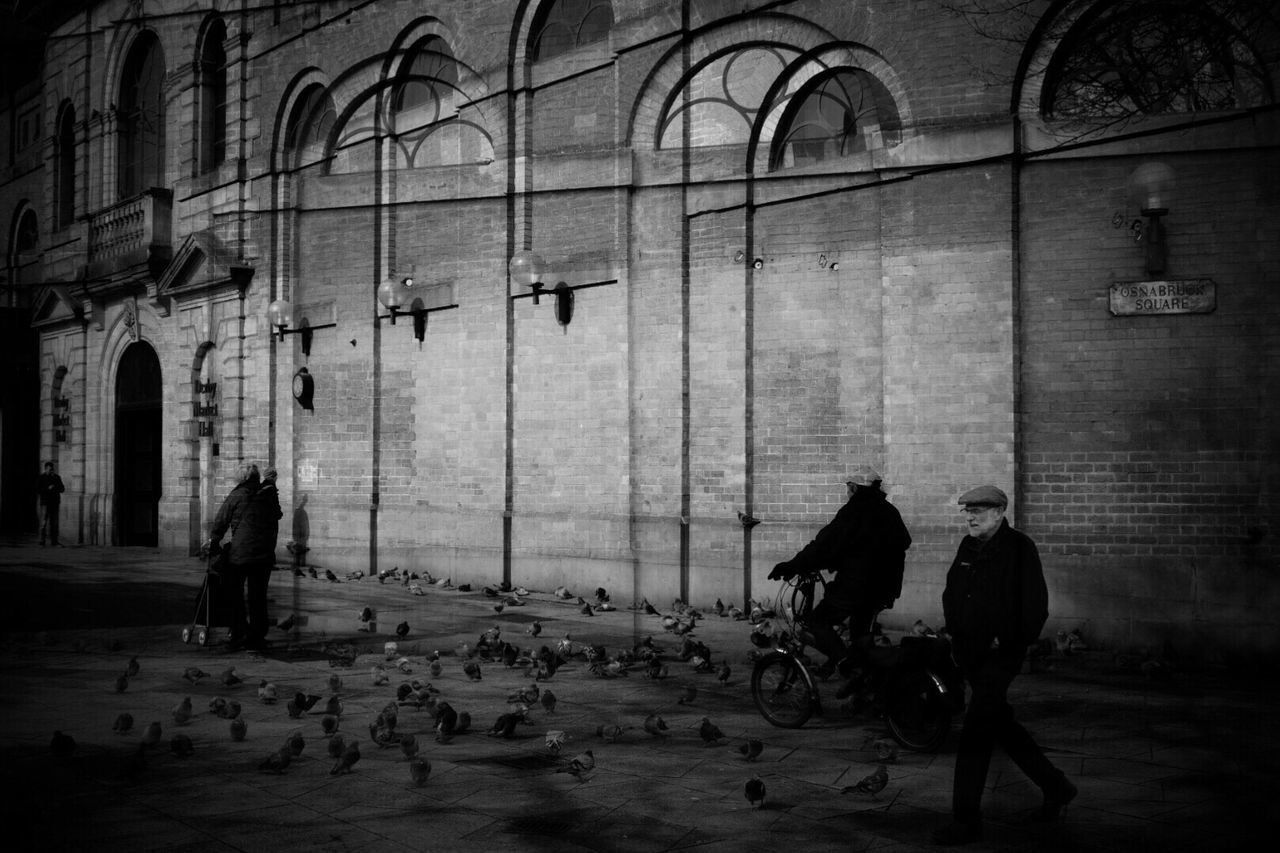 Real People Walking Full Length City Men Day Outdoors Large Group Of People Architecture Adults Only People Adult Blackandwhitephotography Black And White Photography Black And White Blackandwhite Black&white Black & White Blackandwhite Photography Double Exposure