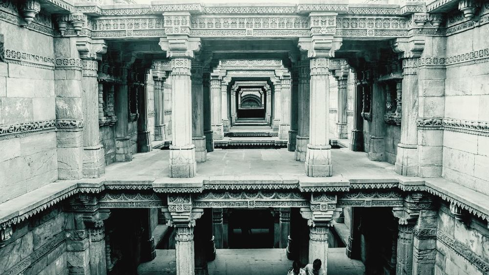 Fine Art Photography Adalajstepwell Gujarat India