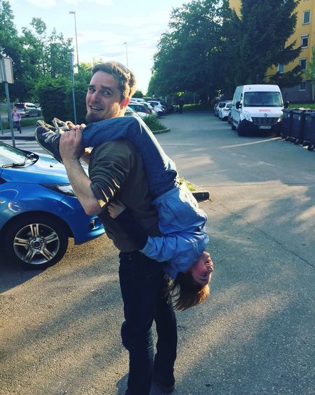 Fatherhood Moments I forgot how to do the Piggyback Daddy Fails Dad And Son Fun Times! Lifestyles
