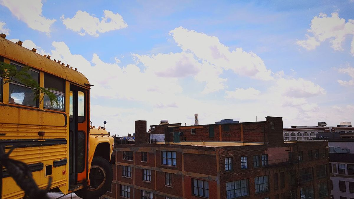 Artistic Expression School Bus Taking Photos Check This Out Bright Colors Capture The Moment Eyeem Photography Fine Art Surreal