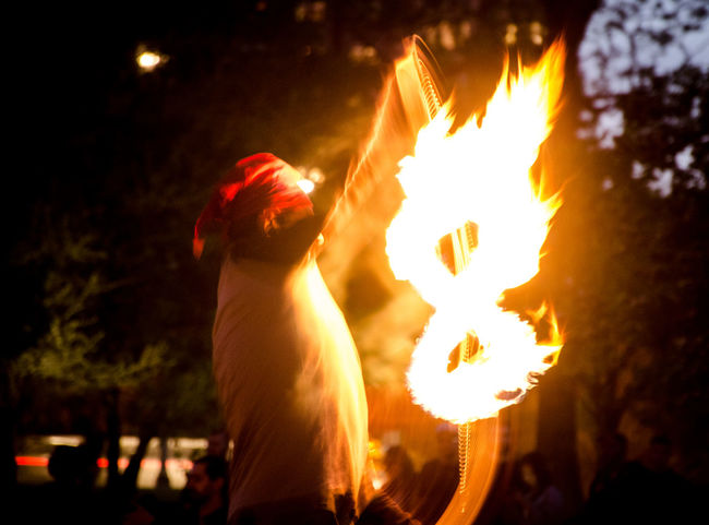 """""""The Power of the 8"""" Chicago Culture Hipies Fire Full Moon Moonfire Moon"""