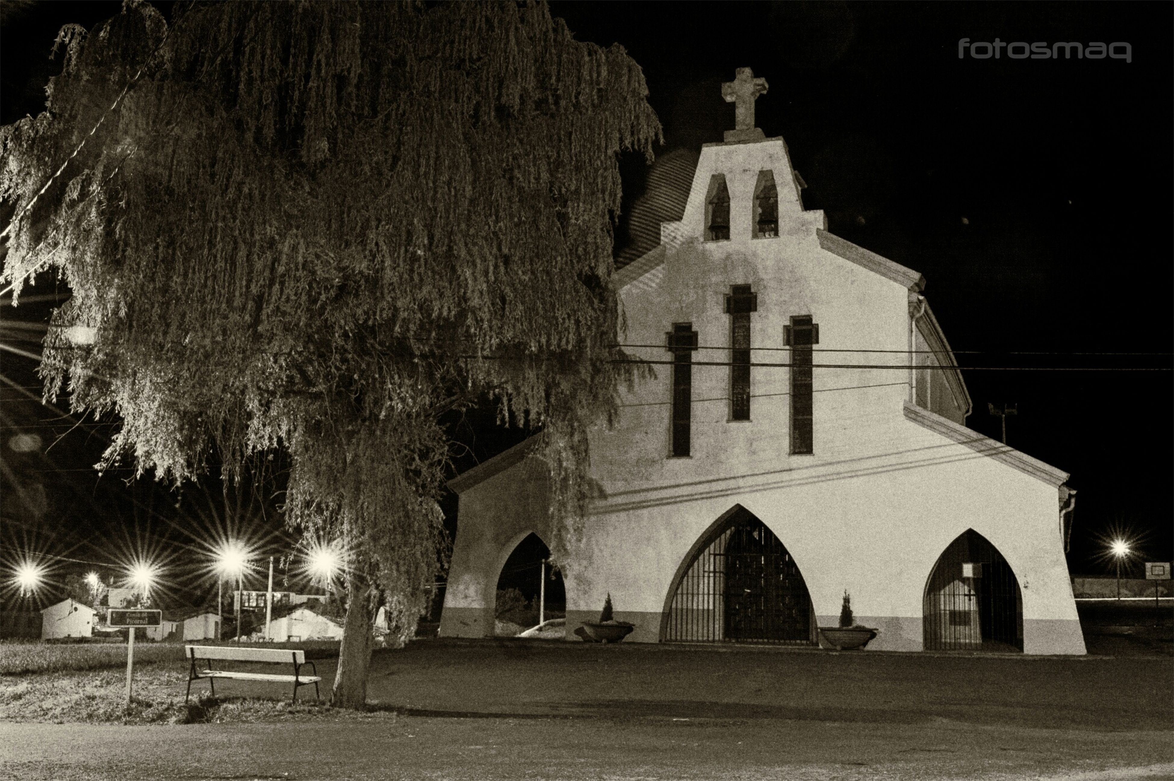 religion, place of worship, church, spirituality, architecture, built structure, building exterior, night, cathedral, cross, illuminated, facade, arch, dome, travel destinations, history, low angle view, famous place