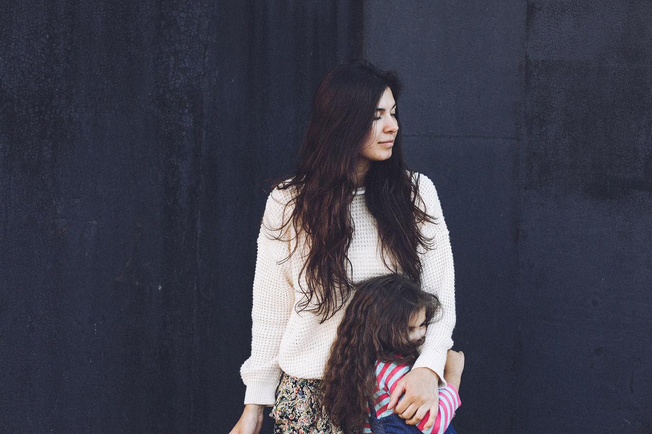 Beautiful stock photos of woman, 25-29 Years, 4-5 Years, Bonding, Casual Clothing