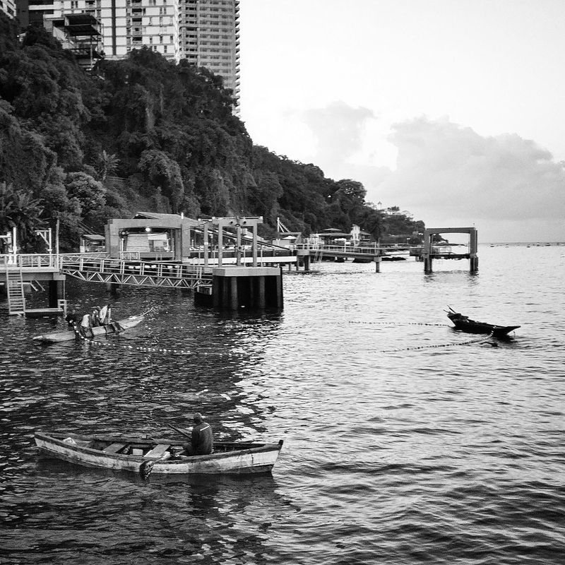 Water Sea Transportation Outdoors Day Nature Tranquil Scene Occupation Fishing Boat Navigator  Bahia Working