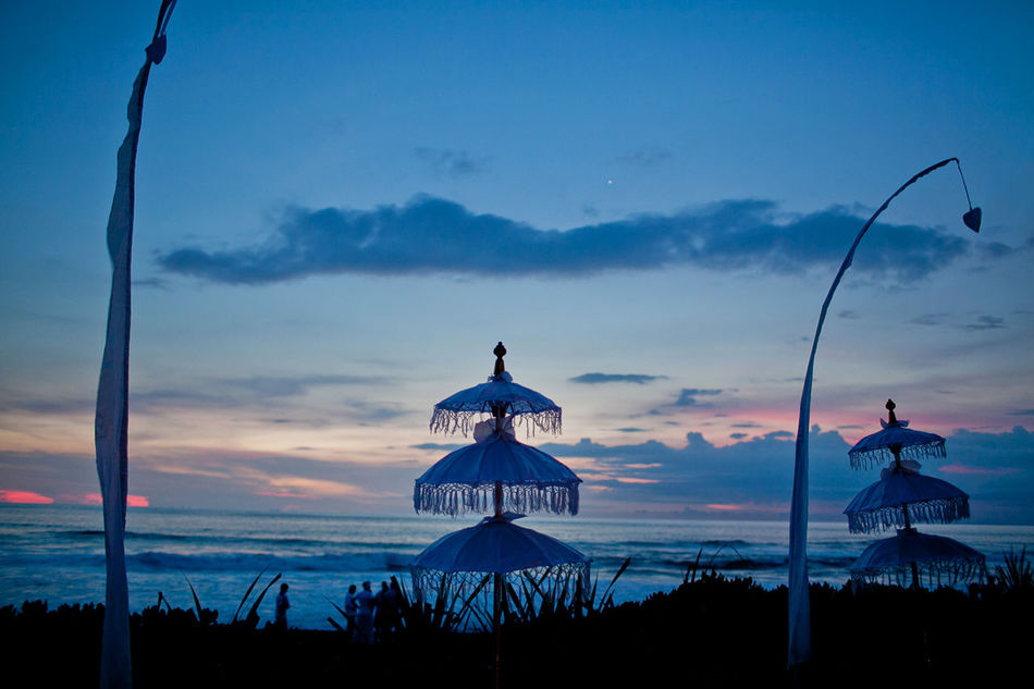 Sunset, Bali Bali, Indonesia Beach Beauty In Nature Blue Cloud - Sky Cultures Day Nature No People Outdoors Scenics Sea Silhouette Sky Sunset Traditional Culture Water