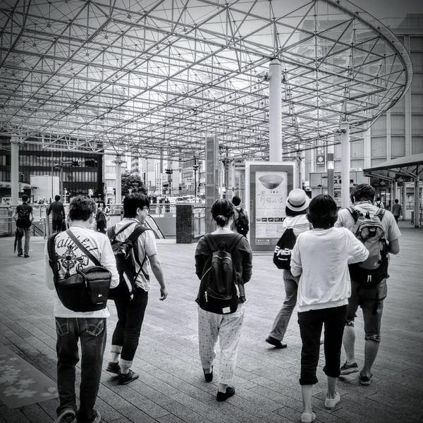 Global EyeEm Adventure - Shizuoka 静岡駅 (Shizuoka Sta.) EEA3 - Shizuoka D90 off on the adventure