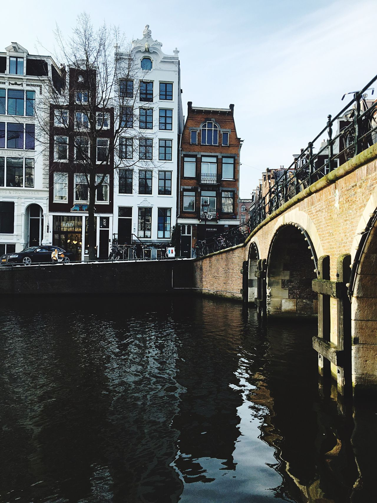 Architecture Built Structure Connection Canal Transportation Building Exterior City Arch Water Bridge - Man Made Structure Waterfront Travel Destinations Outdoors No People Sky Day