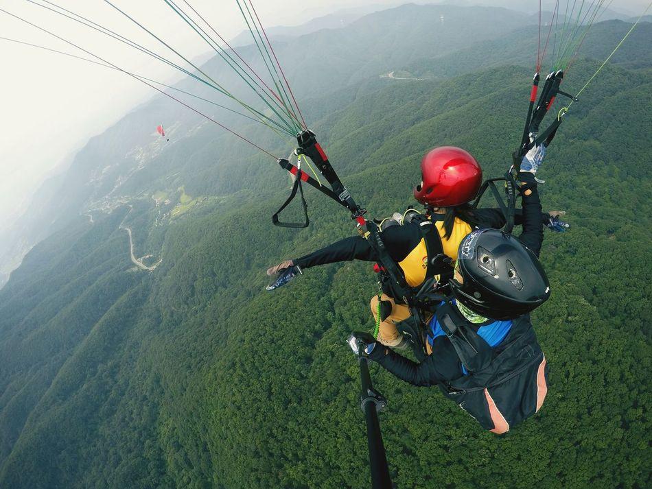 Paragliding YangPyeong Enjoying Life Flying 완전 신세계