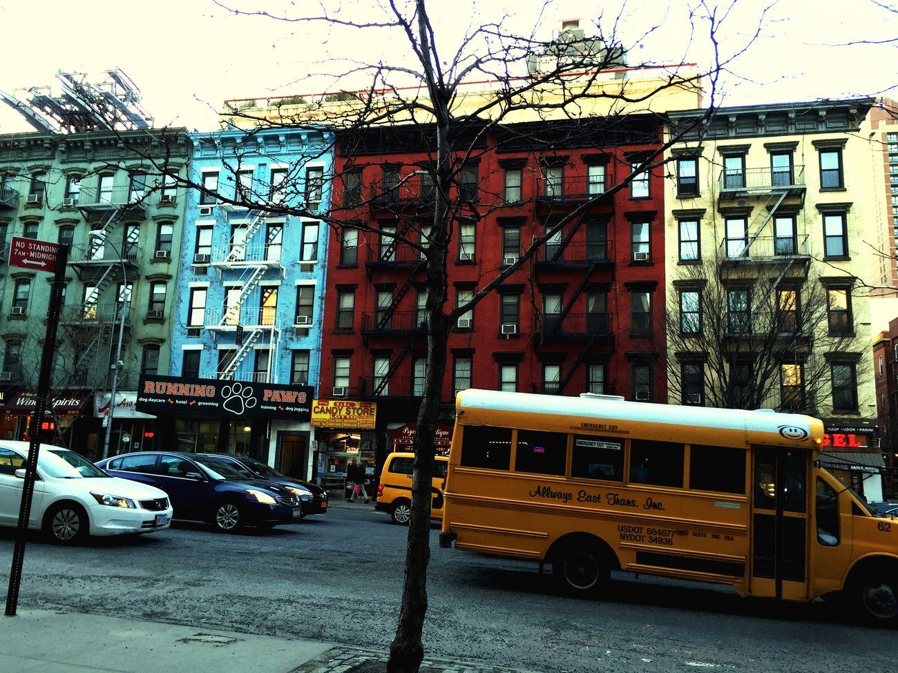 Urban Landscape New Yorka:uppereastside]side Village Life Upper East Side Manhattan