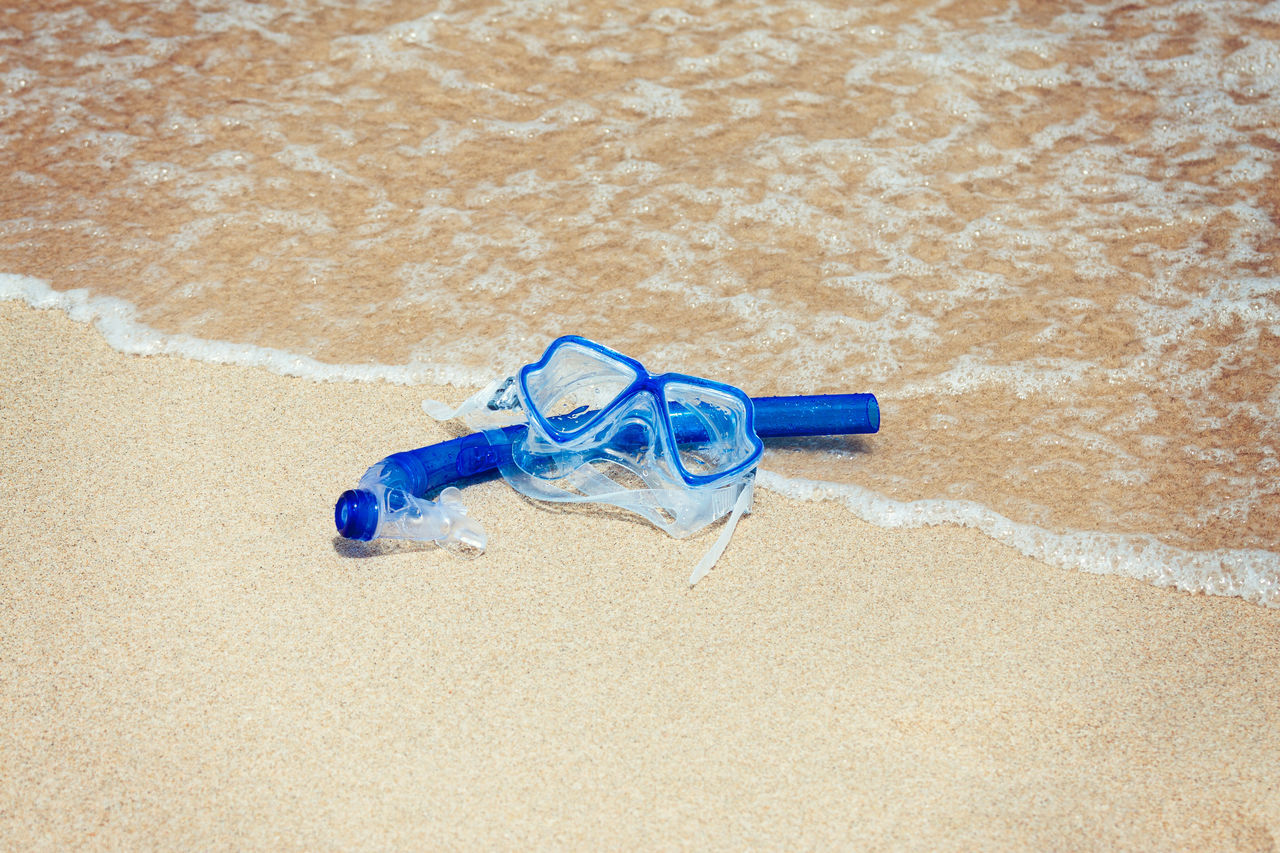 Sand No People Day Beach Outdoors Nature Snorkel Gear Snorkeling Snorkeling Mask Sea Water Coast Equipment Summertime Leisure Activity