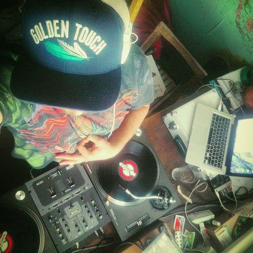 Hi! That's Me DJing Rap Technics Rane Goldentouch Bonybones Cz SK