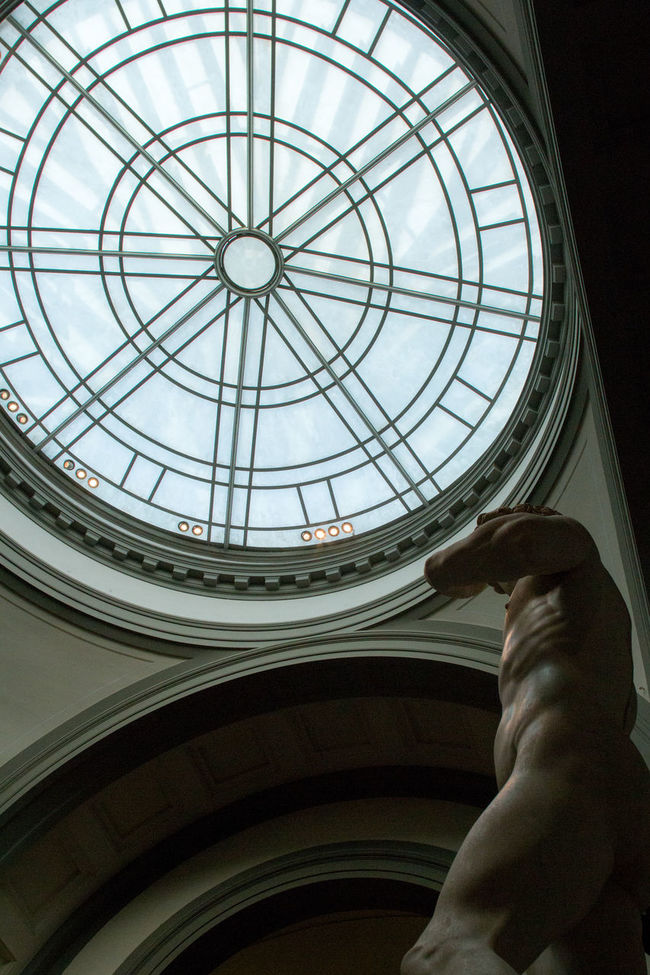 A different look at Michelangelo's David. One could even confuse the soft marble for flesh. Anatomy Architecture Body & Fitness Creativity David Different Perspective Dome Famous Place Flesh Low Angle View Marble Michelangelo