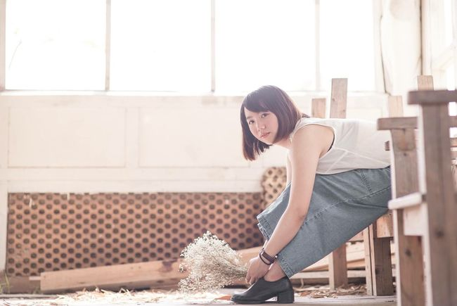 文青日記。 Nikon D610 Photography Photo Girl First Eyeem Photo 乾燥花 文青 日記