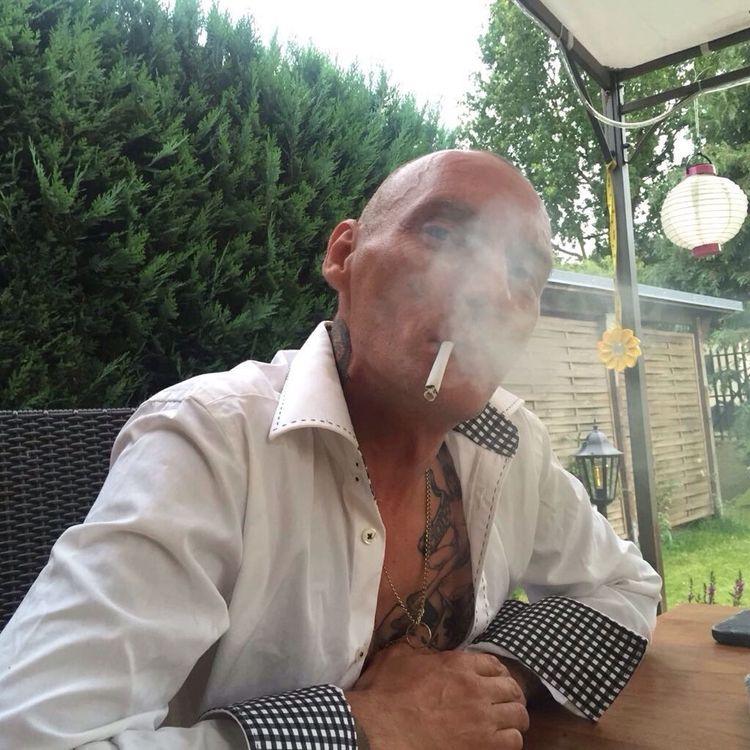 One Person Outdoors Cigarette  Skinhead Oi! Summer Zigarette