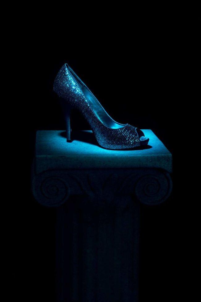 No People Close-up Black Background Indoors  Studio Shot Studio Photography Cinderella Glass Slipper