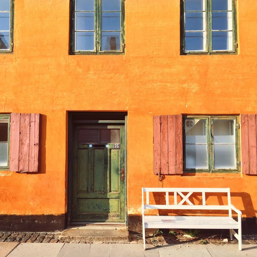 Traveling Denmark Copenhagen Houses Yellow IPhoneography Iphone 6