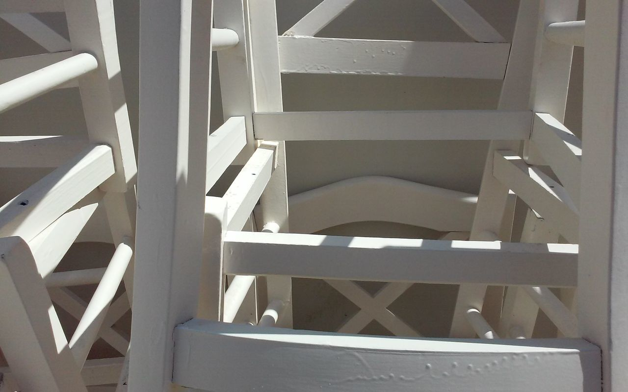 No Filter Minimal Abstract Eye4photography  Abstract Photography Composition Of Chairs White Chairs Colour Palette White Color White